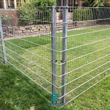 security fencing pvc coated 2d metal