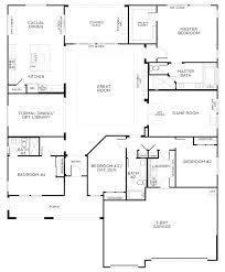 4 bedroom single story house plans single story floor plans one story se plans homes se 4 bedroom
