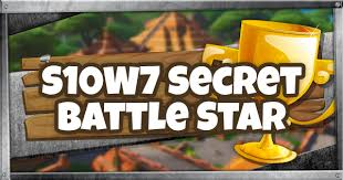 Fortnite | Season 10 Week 7 Secret Battle Star Location