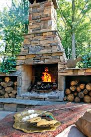 outdoor stone fireplace. Outdoor Stone Fireplace Average Cost Fireplaces A
