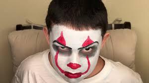 easy diy clown makeup tutorial