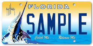 new car plate releaseNew Guy Harvey Catch MeRelease Me License Plate Now Available