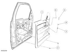 ford f150 replace your power window motor how to ford trucks door panel diagram