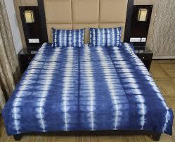 indian indigo tie dye mandala shibori handmade duvet cover with 2 pillow cases ts dc 113