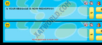 Xat Color Codes Xat Color Chart Xat Html Color Codes