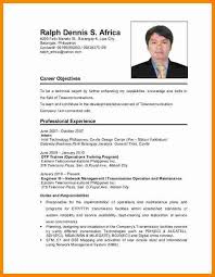 6 Cv Format Philippines Theorynpractice