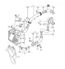 Durite flexible de pression pour 1l9 tdi 130 cv ref 6q0145838e