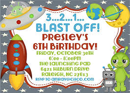 Space Party Invitation Amazon Com Outer Space Birthday Party Invitations Handmade