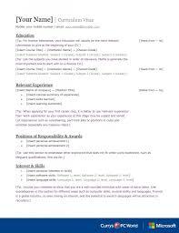 Finance Cv Template Graduate Jobs Internships Careers Advice