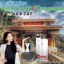 Đại lý máy lọc nước Kangaroo tại Sơn Tây【Chính hãng 100%】 - Hệ thống  Kangaroo Toàn quốc