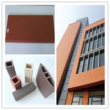 exterior building materials for house. building materials ceramic tile ,exterior cladding tiles terracotta facade 3d wall panel exterior for house