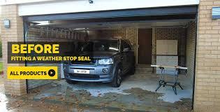 before fitting a garage door seal