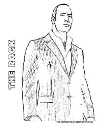 Coloring Pages Of The Rock For All Ages Coloring Adult