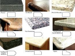 granite countertop edges edges granite countertop edges pencil
