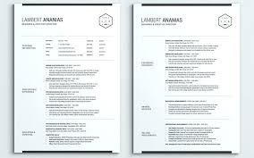 2 Page Resume Format Free Sample Free Resume Templates For Pages 2