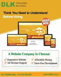 Website Design Price In Chennai Dlktechnologies Is The Best Website Designing Company