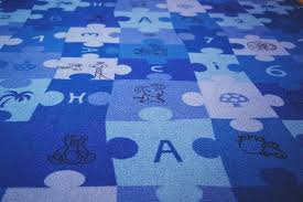 carpet letters. blue, puzzle, carpet, letters, numbers, children carpet letters o