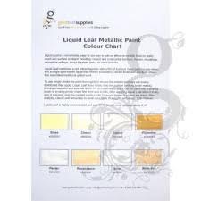 Liquid Chart Liquid Leaf Colour Chart