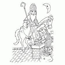 Sinterklaas Kleurplaten Sinterklaas En Zwarte Pieten Pakken Mooi