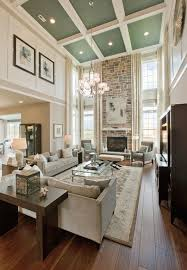 tall ceiling living room