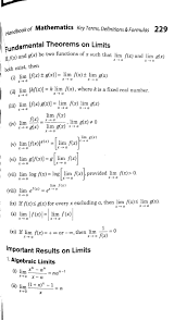 Continuity And Differentiability Class 12 Formulas Class