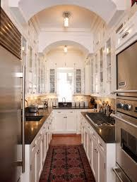 Apartment Galley Kitchen Modern White Galley Kitchen Ideas For Apartment Jerseysl