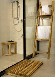Teak Towel Rack or Decorative Ladder ...
