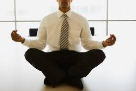 meditation office. meditation in the office o