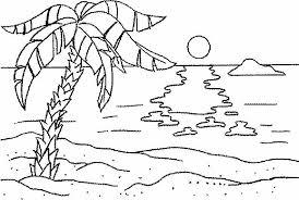 Spiaggia Disegni Da Colorare Disegni Da Colorare Categoria Estate