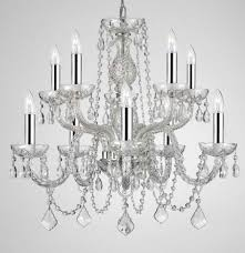 crystal chandeliers h25 x w24 10 lights to enlarge