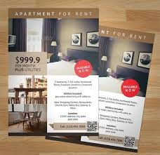 10 Apartment Flyer In Illustrator Indesign Ms Word