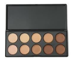 get ations 10 colors eye face concealer camouflage makeup palette set