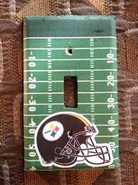 steelers bathroom accessories bathroom set perfect gift football field light switch cover bath rug set bathroom