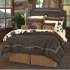 western comforter sets ranch barbwire bedding set chocoate 6