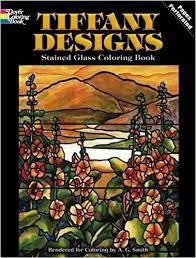 Small Picture Tiffany Designs Stained Glass Coloring Book Dover Design Stained