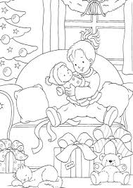 Small Picture Christmas Gift Coloring Christmas Coloring Pages For Kids Santa