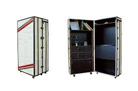 portable office desks. FITZGERALD Desk Cabinet Bookcase Portable Office, Steamer Trunk Wardrobe Desk, AM Florence, Office Desks I