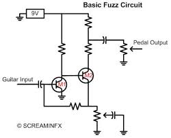 best fuzz pedal learn about germanium vs silicon the fuzz pedal circuit