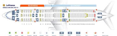 Lufthansa Seat Maps World Maps