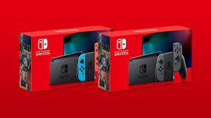 Máy chơi game Nintendo Switch Neon Red And Neon Blue V2
