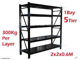 shelving storage shelving garage industrial shelving racking system trade me