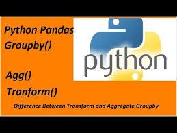 python pandas groupby aggregate and
