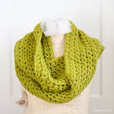Free Infinity Scarf Crochet Pattern Cool Cozy Infinity Scarf One Dog Woof