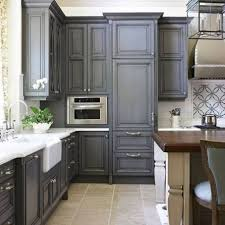 Dark Gray Kitchen Cabinets Stain Kitchen Cabinets Grey Yes Yes Go