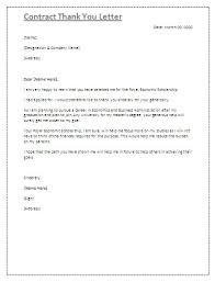 End Of Contract Letter Thank You Choice Image - Letter Format Formal ...