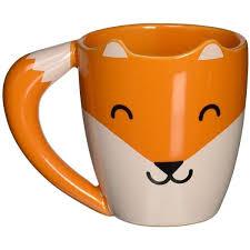 I'm a writer for a reason. Amazon Com Thumbs Up Foxmug Ceramic Fox Shaped Mug Orange Kitchen 28 Liked On Polyvore Featuring Home Mugs Coffee Mugs Vintage Unique Coffee Mugs