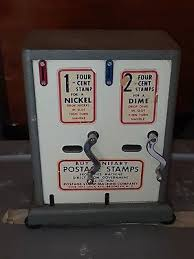 Stamp Vending Machine Locations Cool Vintage Postage Stamp Vending Machine Coin Operated EBay