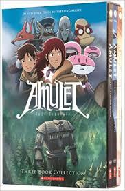 amulet boxed set books 1 3 kazu kibuishi 9780545643795 books amazon ca