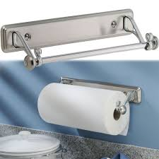 kitchen towel holder wall mounted. Amazon.com: New York Kitchen Wall-Mount Paper Towel Holder - Stainless Steel: \u0026 Dining Wall Mounted