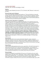 Profile Examples For Resumes Best Of Examples Of Professional Profiles On Resumes Professional Profile